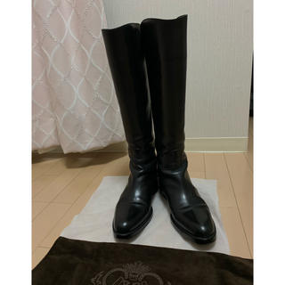 サルトル(SARTORE)のサルトル ロングブーツ ブラック サイズ37 1/2(ブーツ)
