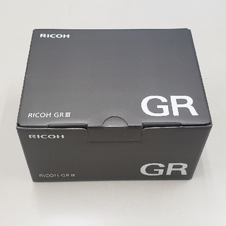 リコー(RICOH)の新品未使用 リコー デジタルカメラ RICOH GR III GRシリーズ (コンパクトデジタルカメラ)