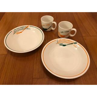 アフタヌーンティー(AfternoonTea)のパスタ皿とマグカップの4個セット(食器)