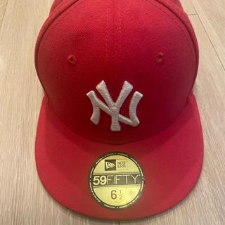 ニューエラー(NEW ERA)のニューエラー キャップ キッズ ピンク 子供(帽子)