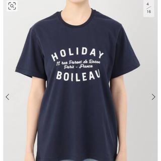 アパルトモンドゥーズィエムクラス(L'Appartement DEUXIEME CLASSE)のアパルトモン holiday Tシャツ(Tシャツ(半袖/袖なし))