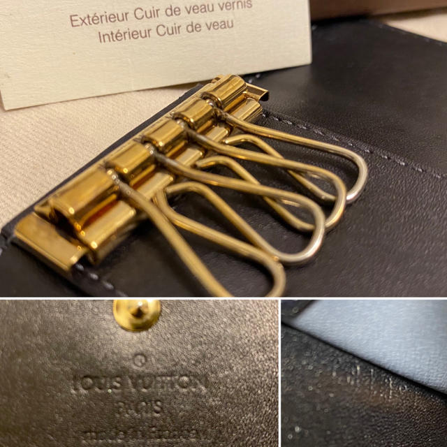 LOUIS VUITTON(ルイヴィトン)のSPECTER 様専用 ルイヴィトン ヴェルニ キーケース レディースのファッション小物(キーケース)の商品写真