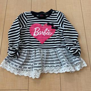 バービー(Barbie)のバービーチュール付きトップス(Tシャツ/カットソー)