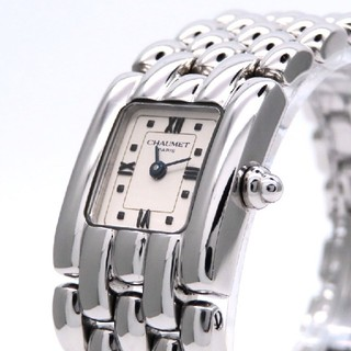 ショーメ(CHAUMET)の【CHAUMET】ショーメ 時計 'ケイシスSM' ホワイトローマン ☆極美品☆(腕時計)