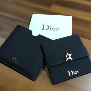ディオール(Dior)のDior ノベルティ ミラーとワッペン(ノベルティグッズ)