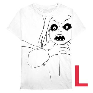 村上隆×ビリーアイリッシュ Tシャツ サイズL(Tシャツ/カットソー(半袖/袖なし))