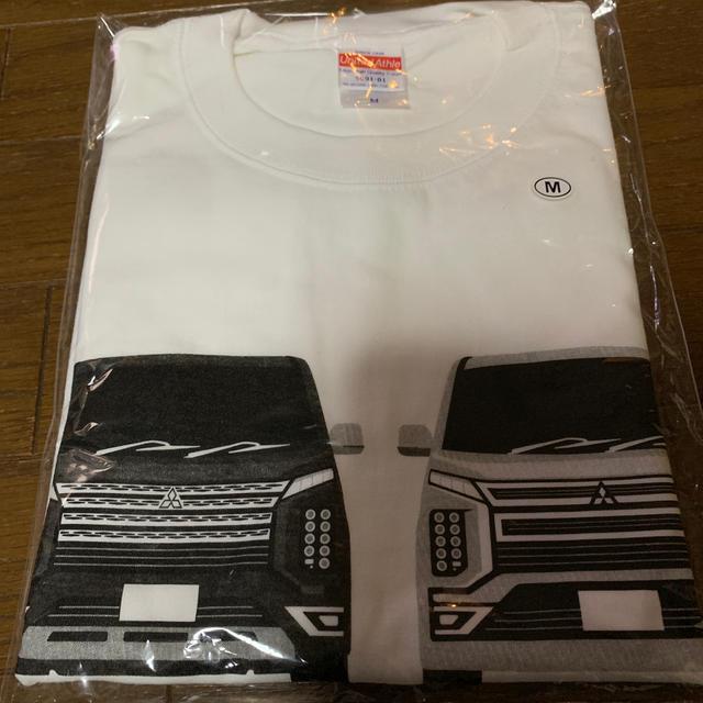 三菱(ミツビシ)のデリカD5 デリカファンミーティング Tシャツ 自動車/バイクの自動車(車種別パーツ)の商品写真