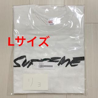 シュプリーム(Supreme)のSupreme シュプリーム Futura Logo Tee 白 L(Tシャツ/カットソー(半袖/袖なし))