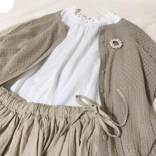 サマンサモスモス(SM2)のサマンサモスモス  脇リボンスカート(ひざ丈スカート)