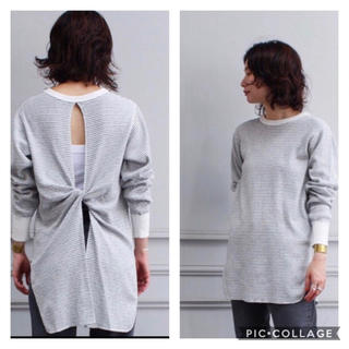 フィーニー(PHEENY)のPHEENY 20/-honeycomb back drape L/S(カットソー(長袖/七分))