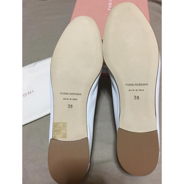FABIO RUSCONI(ファビオルスコーニ)のFabio Rusconi ☆IENA ローファー ☆ホワイト38 新品 レディースの靴/シューズ(ローファー/革靴)の商品写真