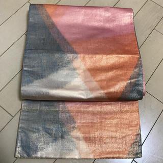 正絹 袋帯 レトロ(帯)
