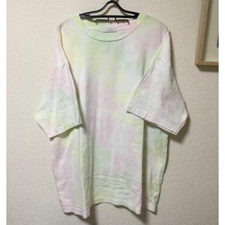 ジーナシス(JEANASIS)のタイダイビッグT  夏物処分価格(Tシャツ(半袖/袖なし))