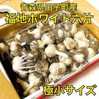【極小サイズ】福地ホワイト六片 乾燥にんにく 約850g 青森県田子町産(野菜)