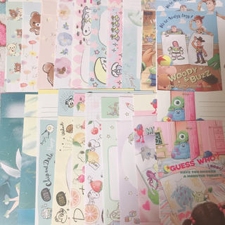 サンエックス(サンエックス)のキャラクター レターセット 20組 ①(カード/レター/ラッピング)
