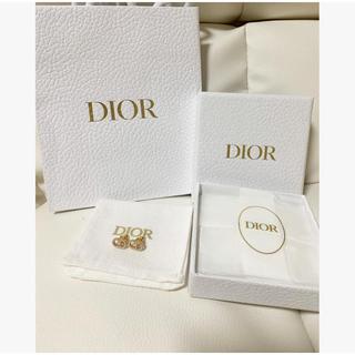 クリスチャンディオール(Christian Dior)のdior ピアス パール CLAIR D LUNE ピアス レジンパール 正規品(ピアス)