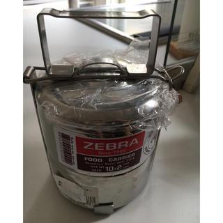 ゼブラ(ZEBRA)のZEBRA弁当箱 ステンレス ランチボックス 丸型 (弁当用品)