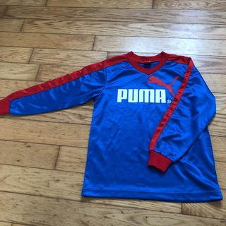PUMA - 値下げ☆PUMA プーマ 長袖Tシャツ サッカーウェア 130