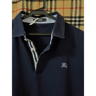 BURBERRY BLACK LABEL - 【クリーニング済み】ポロシャツ