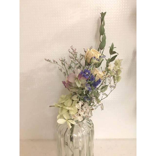 お得! 2束セット ドライフラワー スワッグ ブーケ 花束  ハンドメイドのフラワー/ガーデン(ドライフラワー)の商品写真