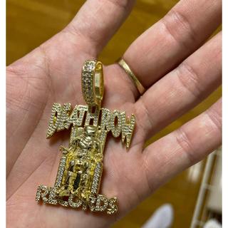 アヴァランチ(AVALANCHE)のKing Ice ネックレストップ 14K Gold DeathRow(ネックレス)