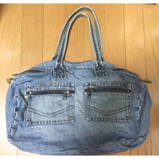 ザラ(ZARA)のDKNY Jeans デニム素材 ボストンバッグ 旅行用(ボストンバッグ)
