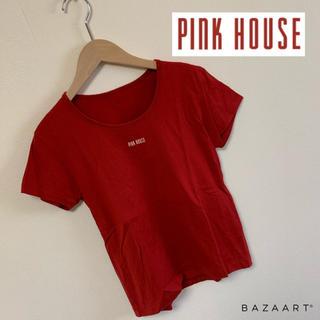 ピンクハウス(PINK HOUSE)のPINK HOUSE♡ロゴTシャツ(Tシャツ(半袖/袖なし))