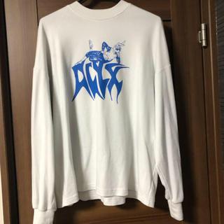 ジョンローレンスサリバン(JOHN LAWRENCE SULLIVAN)のalyx ロンT カワグチジン着用 ホワイト アリクス tシャツ (Tシャツ/カットソー(七分/長袖))