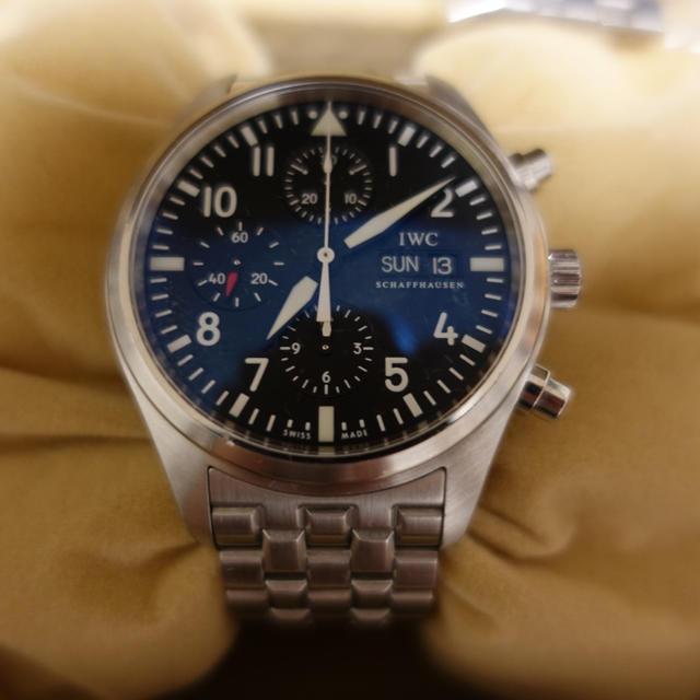 IWC(インターナショナルウォッチカンパニー)のIWC パイロットウォッチクロノグラフ IW371704 自動巻 42.0mm メンズの時計(腕時計(アナログ))の商品写真