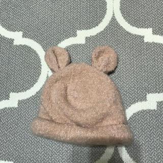 プティマイン(petit main)のプティマイン ベビー うさ耳ニット帽(帽子)