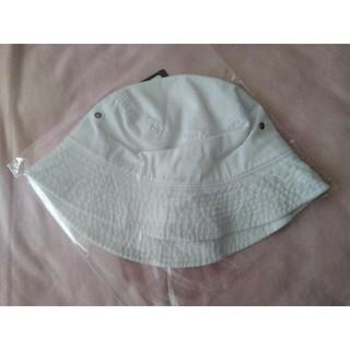ウィゴー(WEGO)のWEGO ハット ホワイト フリーサイズ 帽子 キャップ ウィゴー(ハット)