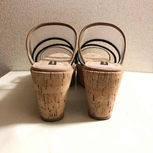TSURU by Mariko Oikawa(ツルバイマリコオイカワ)のTURU by MARIKO OIKAWA  クリアサンダル レディースの靴/シューズ(サンダル)の商品写真