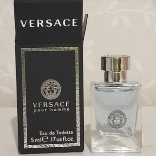ヴェルサーチ(VERSACE)のヴェルサーチ プールオム 香水 5m(香水(男性用))