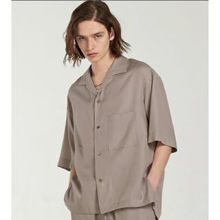 HARE - Lidnm キュプラリラックス オープンカラーシャツ M
