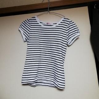 ニッセン(ニッセン)のニッセン ボーダー Tシャツ(Tシャツ(半袖/袖なし))