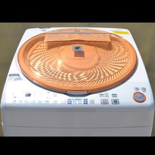 シャープ(SHARP)のSHARP 洗濯乾燥機 ES-TX72-D プラズマクラスター 美品(洗濯機)