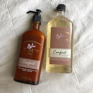 バスアンドボディーワークス(Bath & Body Works)のCOMFORT BATH AND BODY WORKS AROMA SERIES(ボディソープ/石鹸)