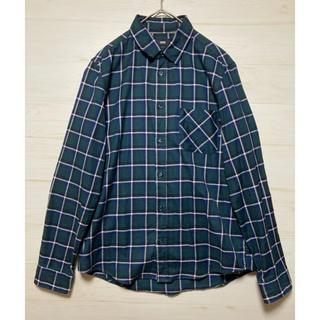 HARE - HARE ハレ チェックシャツ 長袖シャツ 日本製 サイズM