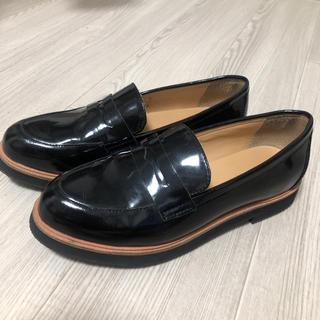 アダムエロぺ(Adam et Rope')の美品 アダムエロぺ 厚底レースアップシューズ(ローファー/革靴)
