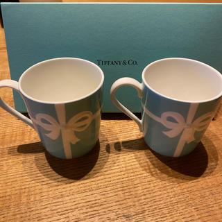 ティファニー(Tiffany & Co.)のティファニー マグカップ 2個セット(マグカップ)