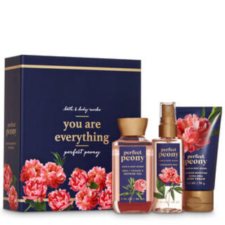 Bath & Body Works - PEONY MINI GIFT SET BATH AND BODY WORKS