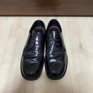 PRADA - PRADA  スクエアトゥ 革靴