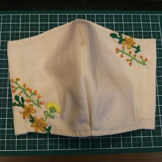 インナーマスク 花刺繍(その他)
