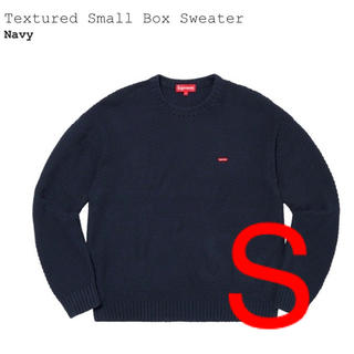 シュプリーム(Supreme)のsupreme Textured Small Box Sweater Navy(ニット/セーター)