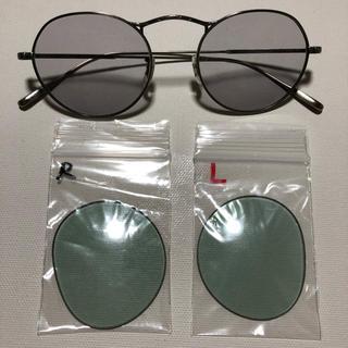 アヤメ(Ayame)のオリバーピープルズ 替えレンズ ライトグリーン 未使用 M4-sun用(サングラス/メガネ)