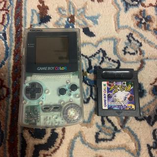 ゲームボーイ - 任天堂ゲームボーイカラー 本体 +ポケモンカードGB