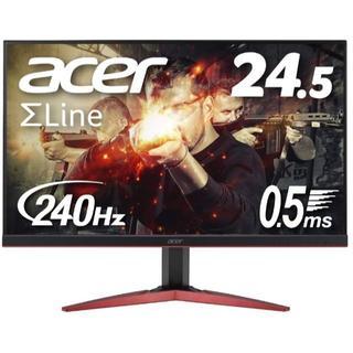エイサー(Acer)のAcer ゲーミングモニター SigmaLine 24.5インチ KG251QI(ディスプレイ)