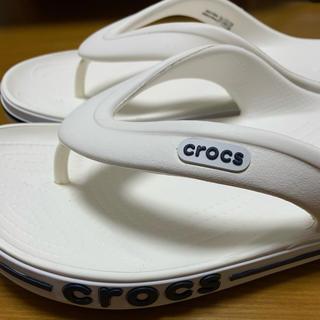クロックス(crocs)のクロックス ビーチサンダル ホワイト(サンダル)