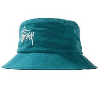 ステューシー(STUSSY)のSTUSSY Big Logo Canvas Bucket Hat(ハット)