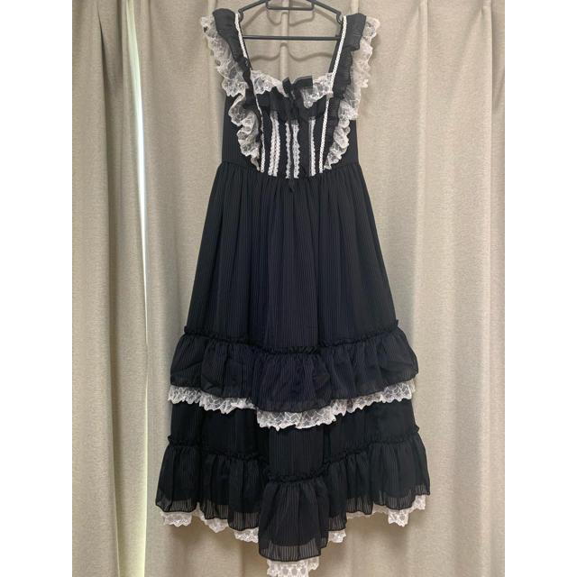 Angelic Pretty(アンジェリックプリティー)のNoble Melodiaジャンパースカート レディースのワンピース(ロングワンピース/マキシワンピース)の商品写真